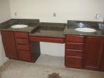 up&down cabinet (under mount sink)